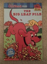 Clifford's The Big Leaf Pile book in Camp Lejeune, North Carolina