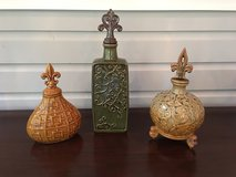 Decorative Accents / Vases - 3 to Choose from! in Plainfield, Illinois