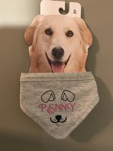 PERSONALIZED DOGGIE BANDANNA in Spring, Texas