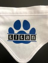 Personalized Paw Bandana in The Woodlands, Texas