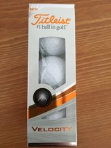 NEW Titleist Velocity Golf Balls 3pk (Dent in packaging) in Lakenheath, UK