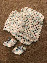 Doll Shawl/Coat & Booties in Aurora, Illinois