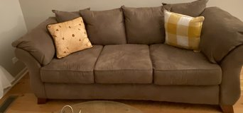 Sofa / couch & matching over sized chair set in Naperville, Illinois