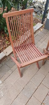 4 outdoor chairs for sale see pictures in Ramstein, Germany