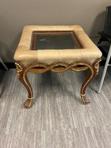 Two Glass End Tables in Tomball, Texas