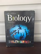 High School Biology Textbook - Holt McDougal in Naperville, Illinois