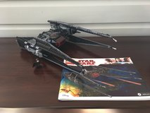 Star Wars LEGO LEGO 75179 Kylo Ren's Tie Fighter Ages 8-14 (630 Pieces) in Plainfield, Illinois