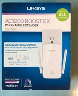 Linksys Wi-Fi Extender/Booster - Dual Band in Cherry Point, North Carolina