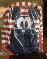 Striped Mickey Mouse Backpack in Batavia, Illinois