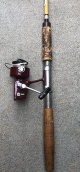 "VINTAGE BERKLEY ROD/REEL COMBO 446 SPINNING REEL and B74 6'6"" BUCCANEER ROD in Camp Pendleton, California"