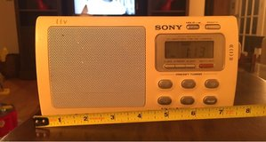 Sony Portable AM/FM Radio in Naperville, Illinois