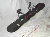 Snowboard 130 cm with Bindings by Trans (Germany) fairly new in Ramstein, Germany