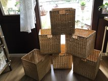 Wicker Basket Set 6 Piece in Stuttgart, GE