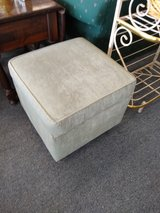 Pale Green Ottoman with Storage in Chicago, Illinois