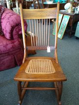 Vintage Small Wood Rocking Chair in Batavia, Illinois