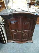 Antique Wood Cabinet in Chicago, Illinois