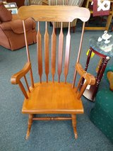 Larger Wooden Rocker in Batavia, Illinois