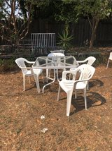 Patio set in Fairfield, California