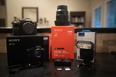 Sony A7iii Bundle WITH LENS!! in Beaufort, South Carolina