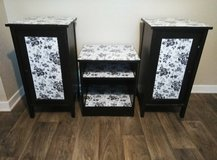 3 pices: 2 night stands and a shelf in Sugar Land, Texas