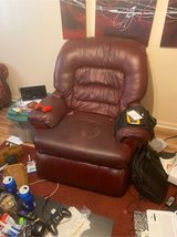 Leather recliner in Clarksville, Tennessee