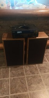 Receiver and Speakers in Aurora, Illinois