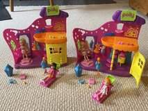 Polly pocket salon 2 sets in Bolingbrook, Illinois