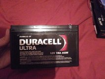 Duracell Ultra 12V 7 Ah AGM Motorcycle Battery in Beaufort, South Carolina