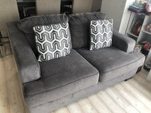 GRAY LOVE SEAT/COUCH in Okinawa, Japan
