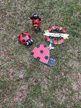 Ladybug Garden set in Kingwood, Texas