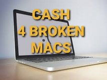 CASH 4 BROKEN MACBOOKS in Camp Pendleton, California