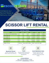 Scissor Lift for Rent in Bellaire, Texas