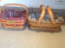 Christmas Longaberger baskets in St. Charles, Illinois