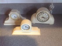 Vintage Celluloid clocks in St. Charles, Illinois
