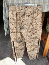 NEW USMC CIF Issued Desert Goretex Trousers Size MR in Camp Pendleton, California