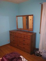 dresser with the mirror in Spring, Texas