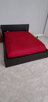 Double size Bed frame and Mattress in Vista, California