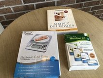 Weight Watchers kit, scale, cookbook in Bartlett, Illinois