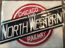 "Chicago & North Western sign 10"" x 8""  (item#56) in Cleveland, Texas"