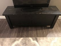 wooden tv stand in Bartlett, Illinois