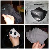 Sports mask in Clarksville, Tennessee