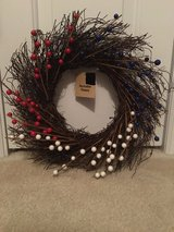 NWT Patriotic Wreath in Camp Lejeune, North Carolina