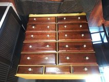 13 DRAWER 2 toned distressed dresser in Travis AFB, California