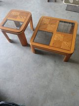 Vintage coffee table and end table in Morris, Illinois