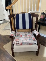 Wing back chair in Fairfield, California