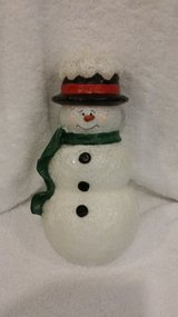 Snowman and Coldwater Creek Candles in St. Charles, Illinois