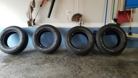 Set of Goodyear wrangler A/T tires in Clarksville, Tennessee