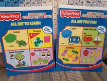 2 - Fisher Price Toddler Learning Pads:  All Set for Fun  &  All Set to Learn,  NEW in Warner Robins, Georgia
