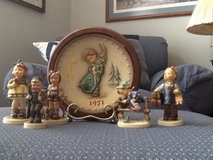 Hummel Figurines and 1971 Annual (First) Plate in Fort Knox, Kentucky