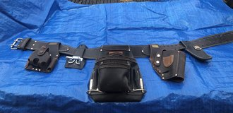 Craftsman Professional Black Leather Tool Belt with Extra Accessories in Camp Lejeune, North Carolina